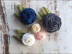 Ribbon Flower - YouTube