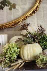 Craftberry Bush: Seasons of the Home - Fall Mantel 2013