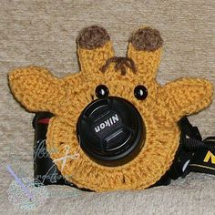Giraffe Lens Critter - $2.50 by Cyndi Hughes of Treasured Forever (Photography, Props, & More)
