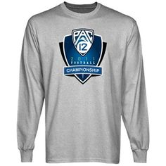Pac-12 Gear 2011 PAC-12 Football Championship Long Sleeve T-Shirt - Ash  #UltimateTailgate #Fanatics