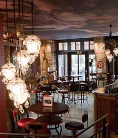 spring restaurant (les halles, paris/daniel rose) | paris trip ... - Ciel De Paris Franzosische Restaurant