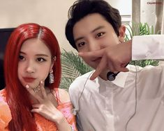 "PARK Chanrose di Instagram ""#chanrose #blackexo #chanrosé #chanyeol #exo #chaeyoung #blackpink #parkchaeyoung #rose #parkchanyeol #rosé #yg #sm"" Rose Park, Blackpink And Bts, Park Chaeyoung, Park Chanyeol, Ulzzang, Kpop, Couples, Celebrities, Korean"