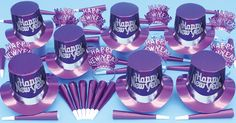 Purple Happy New Year 2015 | NEW YEARS ASSORTMENTS BY COLOR