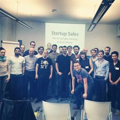 Recent workshop in Berlin #startup #sales awesome people!!!