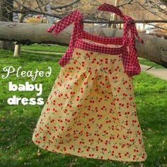 Pleated Baby Dress Sewing Pattern