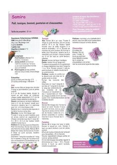 Ideas Crochet Cardigan Pattern Girls Baby Sweaters For 2019 Baby - Diy Crafts - DIY & Crafts Knitted Doll Patterns, Easy Knitting Patterns, Knitted Dolls, Free Knitting, Baby Knitting, Free Crochet, Knitting Dolls Clothes, Baby Doll Clothes, Crochet Baby Clothes