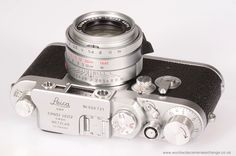 Leica IIIg from 1950s fitted with a current and rare screw-mount Leica 35mm f2 Summicron ASPH.