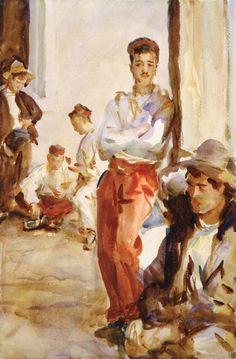 The Athenaeum - Spanish Soldiers (John Singer Sargent - )