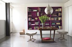 Consider the bookshelf an inspirational place to display everything that's uniquely you—then you can personalize and change it over the years as you see fit. As seen here in the home of Frank Webb.