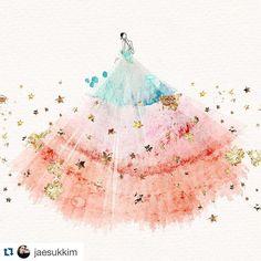 """#Repost @jaesukkim with @repostapp. #DreamALittleDream ✨✨ #jskillustration…"