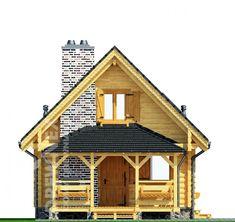 Jaskółka II - Domy drewniane letniskowe - DREWNEX Cabin, House Styles, Home Decor, Projects, Decoration Home, Room Decor, Cabins, Cottage, Home Interior Design
