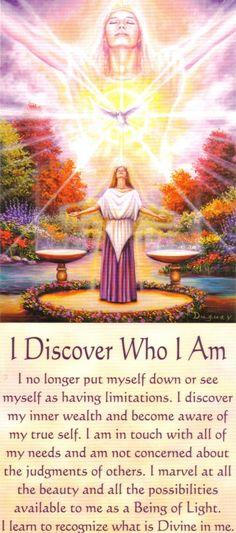 I+Discover+Who+I+Am+Messages+of+Life.Mario Duguay