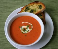Irish tomato soup... delicious with bread and butter