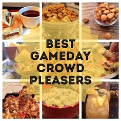 best sweets, eats, treats, and dips for gameday!! all in one place.  pin now read later...never losing this pin!!