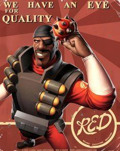 Daily Bite: Team Fortress 2 Propaganda Posters