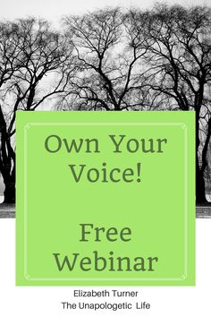 Do you have 30 minutes and a desire to change your life? Gain instant access to my free webinar to help you own your voice and create your joyful life. Stop living someone else's life and experience true happiness and freedom! Click through to get access!