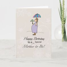 Birthday Pregnant Mom Card   Zazzle.com Mom Cards, Mothers Day Cards, Cute Cards, Pregnancy Congratulations, Congratulations Card, Birthday Cards For Mom, Mom Birthday, Mother's Day Greeting Cards, Custom Greeting Cards