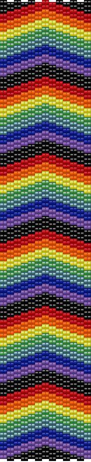 RainbowHeaven Peyote Bracelet by PeyotePlace on Etsy