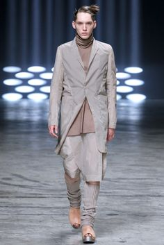 Visions of the Future // Rick Owens Spring 2013 Menswear Collection Slideshow on Style.com