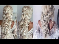 Bridal Hairstyles 2017 || Bridal Hairstyles tutorial compilations 2017 || wedding hairstyle 2017 - YouTube