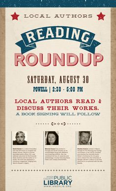 Reading Roundup / Powell Branch Library | Kayti Tilson for Knox County Public Library