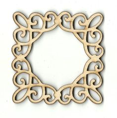 Frame - Laser Cut Wood Shape FRM15