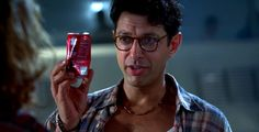 """More absurd product placement. 