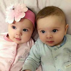 Semoga yang like dan komen amin bulan ini bisa cepat mempunyai momongan. Cute Baby Twins, Twin Baby Boys, Boy Girl Twins, Cute Little Baby, Twin Babies, Little Babies, Baby Kids, Beautiful Children, Beautiful Babies