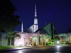 I visited the Chicago Illinois temple with my family while we were driving across the county, but nobody went inside.