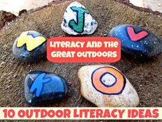 Literacy and the Great Outdoors: 10 Great Activity Ideas for Taking Literacy Outdoors
