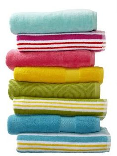 How to make and keep your bath towels softer, fluffier and comfier #hgtvmagazine http://www.hgtv.com/bathrooms/what-you-should-know-about-your-towels/index.html?soc=pinterest