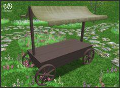 Market vendor cart