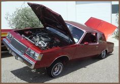 Buick Regal Lowrider in Red