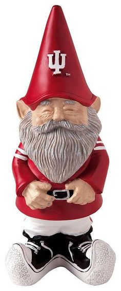 Indiana University gnome needs to join Gianni and Roscoe at the DHL Indiana Basketball, Basketball Tickets, Basketball Shooting, Basketball Uniforms, Basketball Teams, Indiana Girl, Iu Hoosiers, Indiana University, Camping Gifts
