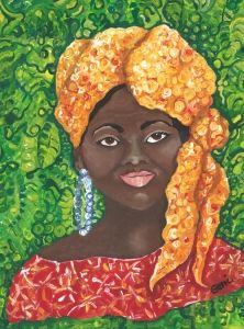 Akron escolta mujer negra