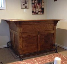 1000 Ideas About Wooden Bar On Pinterest Wooden Bar
