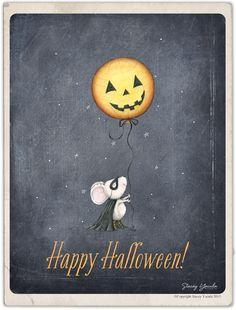 stacey yacula studio: happy halloween!