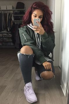 Green bomber jacket Knit dress and Bomber jackets on Pinterest