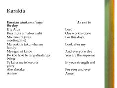 karakia mo te moana - Google Search Maori Words, Matou, Learning Spaces, Moana, Everyone Else, Teaching Resources, Prayers, Preschool, Language