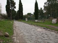 The Via Hadriana was an ancient Roman road established by the emperor Hadrian, running from Antinopolis to the Red Sea at Berenike