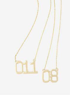 Stranger Things 08 & 011 Best Friend Necklace Set,