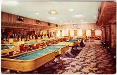 Last Frontier Hotel casino, Las Vegas, 1950s