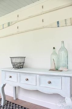 Seaside Console with Chalk Paint®