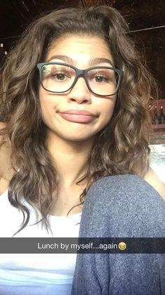 Zendaya on snapchat 8/27/15