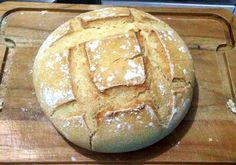 Meu primeiro pão de fermentação natural! #sourdoughbread #fermentacaonatural