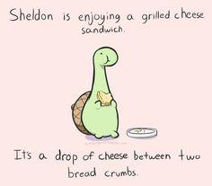 grilled sheldon
