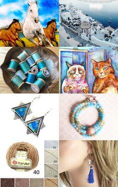 Friday in Blue! by Gabbie on Etsy--Pinned with TreasuryPin.com Friday, Blue, Etsy, Beautiful, Jewelry, Fashion, Moda, Jewlery, Jewerly
