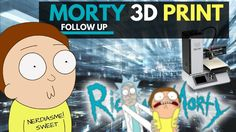🖨 Printed Morty from Rick and Morty cartoon Youtube News, Rick And Morty, 3d Printer, Family Guy, Cartoon, Printed, Fictional Characters, Cartoons, Comic