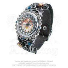 Alchemy of England - AW23 - Telford Chronocogulator Timepiece Watch, $163.80 (http://www.alchemyofengland.com/aw23-telford-chronocogulator-timepiece-watch/)