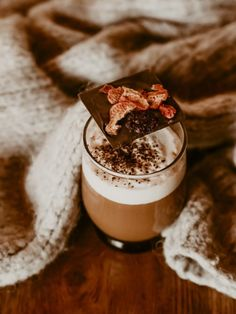 Pumpkin Spice Latte, Panna Cotta, Sweets, Chocolate, Coffee, Cooking, Ethnic Recipes, Desserts, Hygge